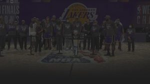 Los Angeles Lakers Won Western Conference 2020 NBA Finals